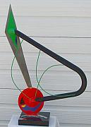 Polished Steel Sculptures - Jazz by Richard W Beau Lieu