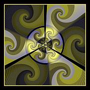Fractal Geometry Digital Art - Jazz Transfusion Squared by David April