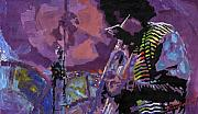 Jazz.miles Davis.4. Print by Yuriy  Shevchuk