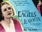 March Photos - Jealousy, Jeanne Eagels, Fredric March by Everett