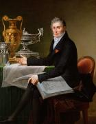 Table Paintings - Jean-Baptiste-Claude Odiot by Robert Lefevre
