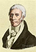 Jean-baptiste Art Prints - Jean-baptiste Lamarck, French Naturalist Print by Science Source