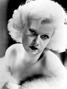 Harlow Framed Prints - Jean Harlow, Ca. 1932-33 Framed Print by Everett