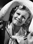 Harlow Framed Prints - Jean Harlow, Ca. 1936-37 Framed Print by Everett