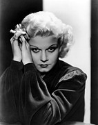 Harlow Framed Prints - Jean Harlow, Ca. 1936 Framed Print by Everett