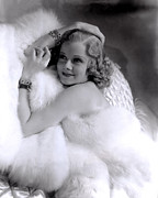 Harlow Framed Prints - Jean Harlow, Mgm, 1930s Framed Print by Everett