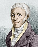 Evolutionary Biology Prints - Jean Lamarck, French Naturalist Print by Sheila Terry