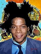Keaton Digital Art - Jean-Michel Basquiat 1 by John Keaton