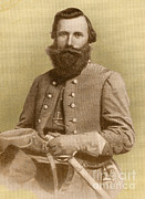 The General Lee Photo Framed Prints - Jeb Stuart, Confederate General Framed Print by Photo Researchers