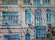 Ali Painting Originals - Jeddah Recollection by Martin Giesen