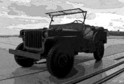 Pride Digital Art - Jeep by David Lee Thompson