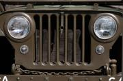 Jeep Framed Prints - Jeep Grill Framed Print by Dan Holm