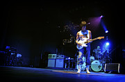 Bands Prints - Jeff Beck on Guitar 7 Print by The  Vault