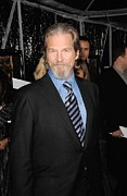 Jeff Bridges At Arrivals For Crazy Print by Everett
