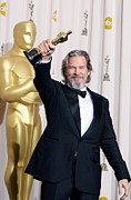 Jeff Photo Prints - Jeff Bridges, Best Actor For Crazy Print by Everett