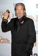 The 67th Annual Golden Globes Awards - Arrivals Posters - Jeff Bridges In The Press Room For The Poster by Everett