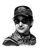 Jeff Drawings - Jeff Gordon by Patrick Payton
