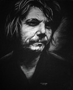 Jeff Drawings - Jeff Tweedy by Steve Hunter
