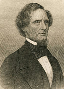 Confederacy Prints - Jefferson Davis, President Print by Photo Researchers