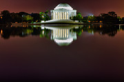 Val Black Russian Tourchin - Jefferson Memorial Across the Pond at Night 3