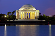 Thomas Jefferson Photo Prints - Jefferson Memorial Print by Brian Jannsen