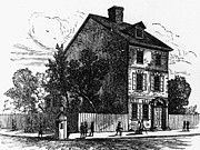 American Independance Photo Metal Prints - Jeffersons House, 1776 Metal Print by Granger