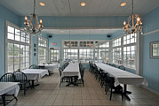 Furnishing Framed Prints - Jekyll Island Restaurant Dining Room Framed Print by Rob Tilley