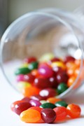 Jelly Jar Framed Prints - Jelly Beans Framed Print by Stacy Boulton