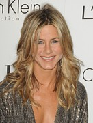 Four Seasons Hotel Framed Prints - Jennifer Aniston At Arrivals For Elles Framed Print by Everett