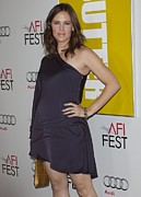 Minidress Framed Prints - Jennifer Garner At Arrivals For Butter Framed Print by Everett
