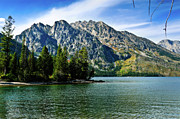 Jenny Prints - Jenny Lake borderless Print by Greg Norrell