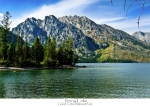 Lake Framed Prints Posters - Jenny Lake Poster by Greg Norrell