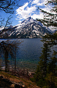 Jenny Prints - Jenny Lake in the Grand Teton Area Print by Susanne Van Hulst