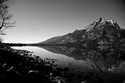 Jenny Prints - Jenny Lake Reflection Print by Timothy Johnson