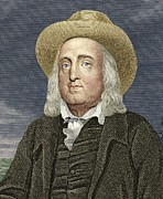 Jeremy Prints - Jeremy Bentham, British Philosopher Print by Sheila Terry