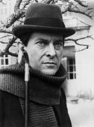 Holm Framed Prints - Jeremy Brett (1935-1995) Framed Print by Granger