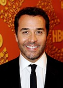 Golden Globe Framed Prints - Jeremy Piven At The After-party For Hbo Framed Print by Everett