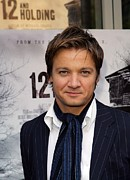 Ifc Posters - Jeremy Renner At Arrivals For 12 And Poster by Everett