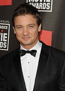 Red Carpet Prints - Jeremy Renner At Arrivals For 16th Print by Everett