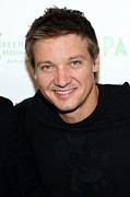 2009 Prints - Jeremy Renner At Arrivals For 2009 Print by Everett