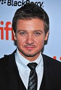 Toronto International Film Festival Tiff Framed Prints - Jeremy Renner At Arrivals For The Town Framed Print by Everett