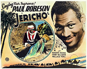 1937 Movies Posters - Jericho, Paul Robeson, 1937 Poster by Everett