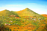 Jerome Stumphauzer Posters - Jerome Arizona Poster by Jerome Stumphauzer