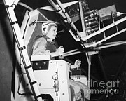 Mastif Prints - Jerrie Cobb Trains On Mercury Project Print by NASA / Science Source