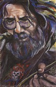 Jerry Garcia Pastels - Jerry #1 by Mark Anthony