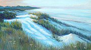 Sand Dunes Paintings - Jersey Dunes by James Townsend