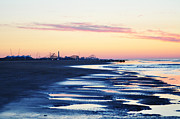 Jersey Shore Digital Art Posters - Jersey Shore Sunrise Poster by Bill Cannon