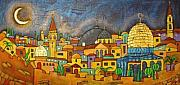 Inna Novikova Art - Jerusalem - Light Of The Universe by Inna Novikova
