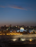 Desert Dome Photos - Jerusalem And The Dome Of The Rock by Noam Armonn