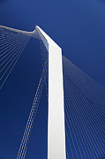 Spar Posters - Jerusalem Chords Bridge Poster by Noam Armonn